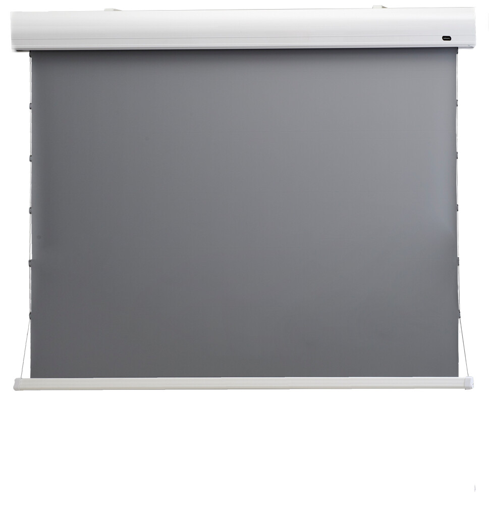 "Celexon HomeCinema - 177cm x 99 cm - 80"" Diag - Dynamic Slate ALR - Electric Tensioned High Contrast screen"