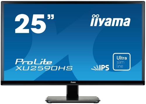 "iiyama ProLite XU2590HS-B1 25"" Full HD LED Matt Flat Black computer monitor LED display"