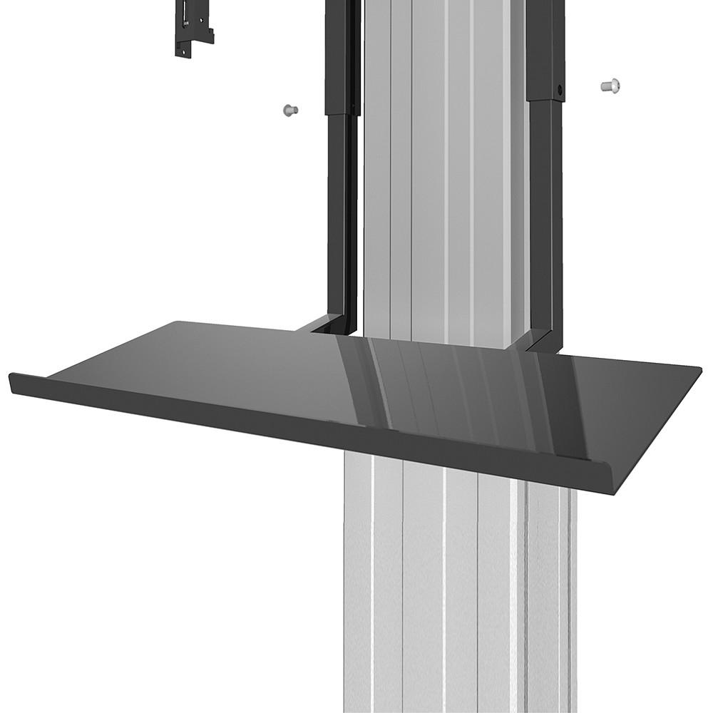 KEYBOARD SHELF BLACK PLASMA-M2250/W2250-SERIES