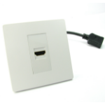 Nexxia NX-WPSL-040 socket-outlet HDMI White