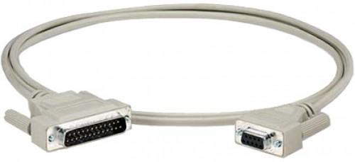 Epson 2091493 cable de serie Blanco RS-232 DB9
