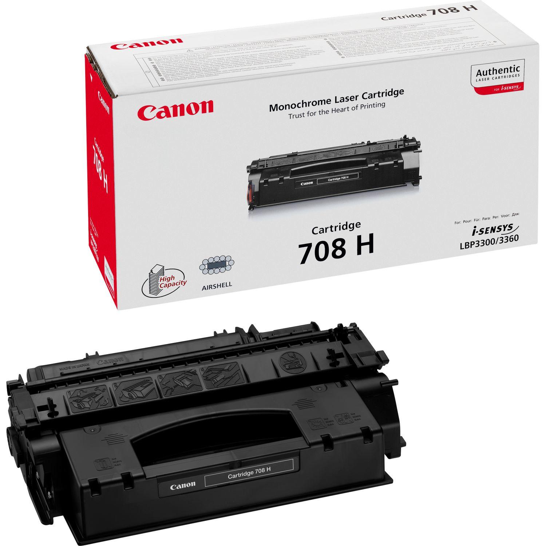 Canon 708H Original Negro 1 pieza(s)