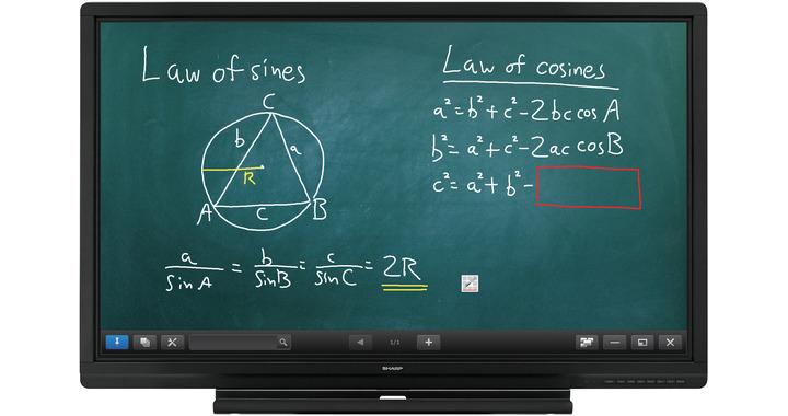 "Sharp PN-60SC5 60"" 1920 x 1080pixels Touchscreen Black interactive whiteboard"