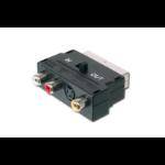 ASSMANN Electronic Scart 21pin - 3x RCA/SVHS SCART video switch