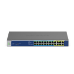 Netgear GS524UP Unmanaged Gigabit Ethernet (10/100/1000) Grey Power over Ethernet (PoE)