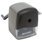 Swordfish 40103 Manual pencil sharpener Black,Grey pencil sharpener