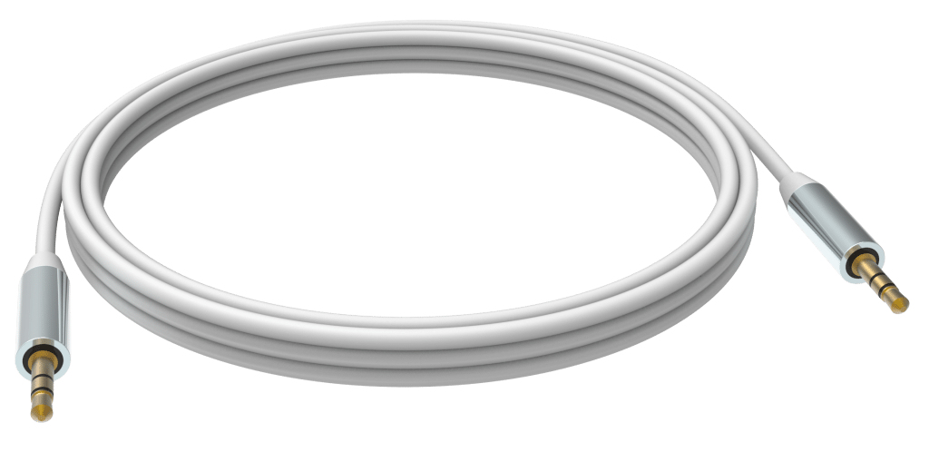 Vision TC 15M3.5MMP cable de audio 15 m 3,5mm Blanco