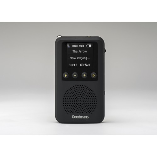 Goodmans GDPRDAB radio Portable Digital Black