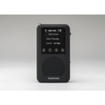 Goodmans GDPRDAB Portable Digital Black radio