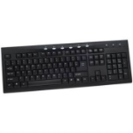 LEAF Home & Business Windows Keyboard PS/2 with 107 Keys & 6 Hot Keys