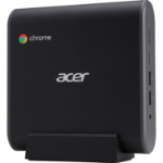Acer Chromebox CXI3 Intel® Celeron® 3867U 4 GB DDR4-SDRAM 32 GB SSD Mini PC Black Chrome OS