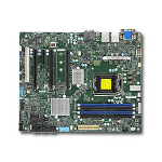 Supermicro X11SAT-F Intel C236 Socket H4 (LGA 1151) ATX server/workstation motherboard
