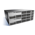 Cisco Catalyst WS-C3850-48T-L netwerk-switch Managed Zwart, Grijs