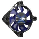Noiseblocker BlackSilentFan XS-1 Computer case Fan 5 cm Black, Blue