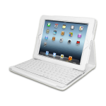 Adesso Compagno 3 mobile device keyboard White QWERTY Bluetooth