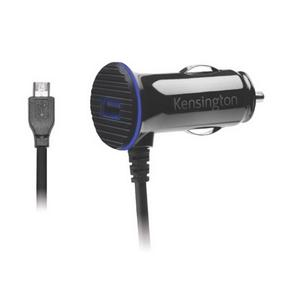 Kensington PowerBolt™ 3.4 Dual Fast Charge Car Charger with Micro USB Cable