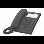 Panasonic KX-TS550 Analog telephone Identificador de llamadas Negro dir