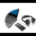 POLY Voyager Focus UC B825-M Headset Head-band Bluetooth Black