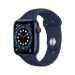 Apple Watch Series 6 OLED 44 mm Azul 4G GPS (satélite)