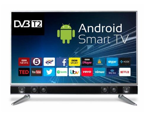 "Cello P43ANSMT 43"" Full HD Smart TV Black, Silver LED TV"