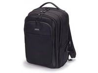 """DICOTA The Dicota Backpack Performer Laptop Bag 15.6"""" BLACK with four compartments comes with adjustable sh"""