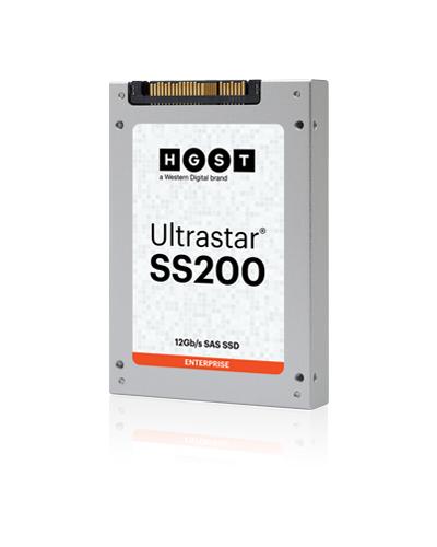 "Western Digital Ultrastar SS200 2.5"" 7680 GB SAS MLC"
