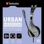 Verbatim 49122 Binaural Head-band Black headset