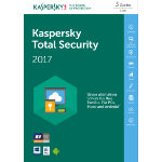 Kaspersky Lab Total Security 2017 3user(s) 1year(s)