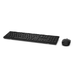 DELL KM636 keyboard RF Wireless QWERTZ German Black