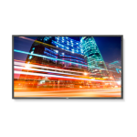 "NEC P553 Digital signage flat panel 55"" LED Full HD Negro signage display"