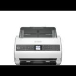 Epson DS-730N 600 x 600 DPI Escáner alimentado con hojas Negro, Gris A4