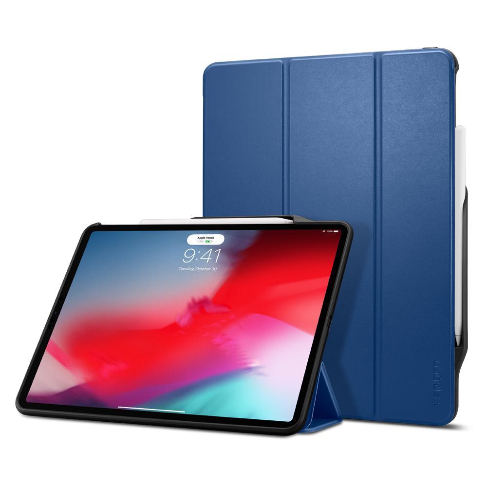"Spigen 068CS25195 tabletbehuizing 32,8 cm (12.9"") Folioblad Blauw"