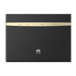 Huawei B525 wireless router Dual-band (2.4 GHz / 5 GHz) 3G 4G Black,Gold
