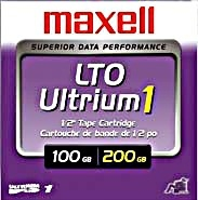 Data Cartridge Lto 100/200GB Ultrium1 Tape