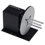 LABELMATE Bi-directional with multiple rewind force settings. Size W x D x H 220 x 305 x 195mm