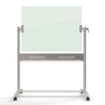 Nobo Diamond Glass Magnetic Mobile Board 1200x900mm