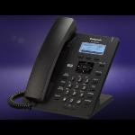 Panasonic KX-HDV130 Wired handset 2lines LCD Black IP phone