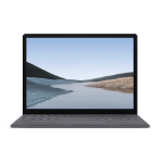 "Microsoft Surface Laptop 3 Platina Notebook 34,3 cm (13.5"") 2256 x 1504 Pixels Touchscreen 10th gen Intel® Core™ i7 16 GB LPDDR4x-SDRAM 512 GB SSD Windows 10 Pro"