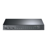 TP-LINK 8-Port 10/100Mbps + 3-Port Gigabit Desktop Switch with 8-Port PoE+