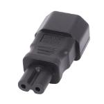 Lindy 30452 cable gender changer IEC C14 3 Pin IEC C7 Figure 8 Black