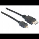 Hypertec 128280-HY HDMI cable 3 m HDMI Type A (Standard) HDMI Type C (Mini) Black