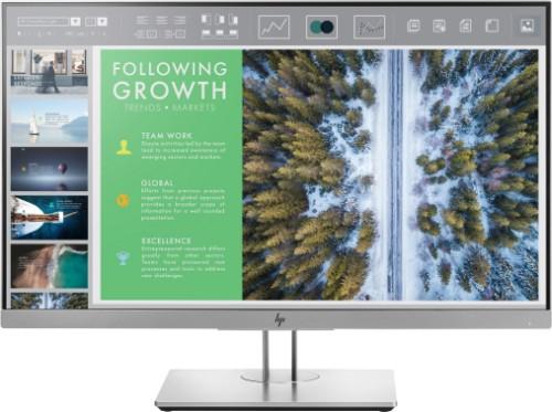 "HP EliteDisplay E243 LED display 60.5 cm (23.8"") Full HD Flat Black,Silver"
