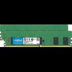 Crucial 16GB (2 x 8) DDR4-2666 RDIMM 16GB DDR4 2666MHz ECC memory module