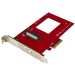 StarTech.com PEX4SFF8639 tarjeta y adaptador de interfaz Interno U.2