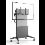 "Salamander FPS1/EL/GG/EX 65"" Portable flat panel floor stand Graphite, Grey Flat panel Bodenhalter"