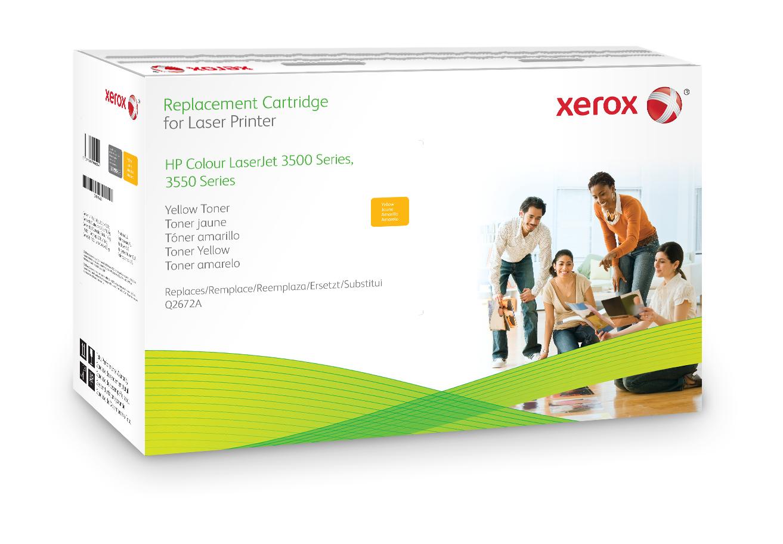 Xerox Cartucho De Tóner Amarillo. Equivalente A Hp Q2672A