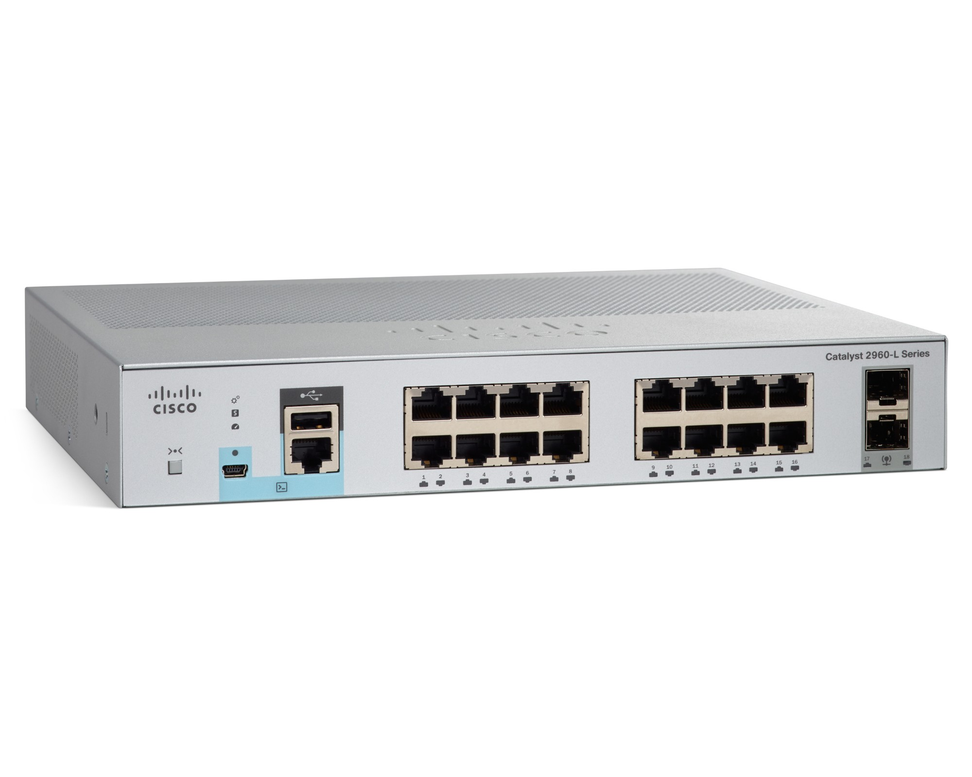 Cisco Catalyst 2960L-16TS-LL Managed network switch L2 Gigabit ...