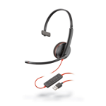 Plantronics Blackwire 3210 Monaural Head-band Black