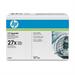 HP C4127D (27X) Toner black, 10K pages, Pack qty 2