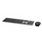 DELL 580-AFQM keyboard RF Wireless + Bluetooth QWERTY UK English Black,Grey